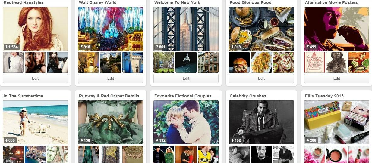 My Top Ten Favourite Pinterest Boards Ellis Tuesday