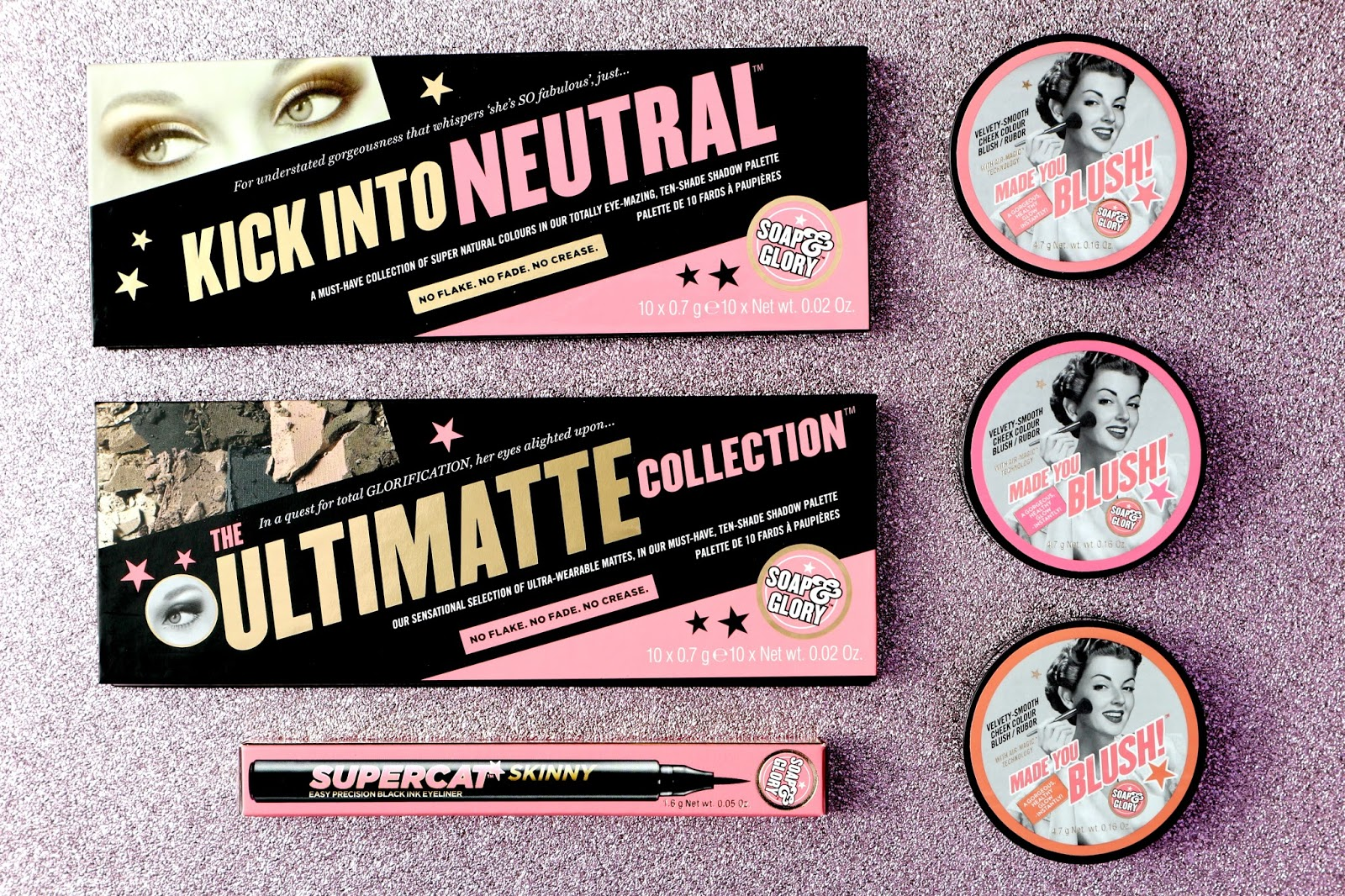 New In From Soap And Glory Makeup